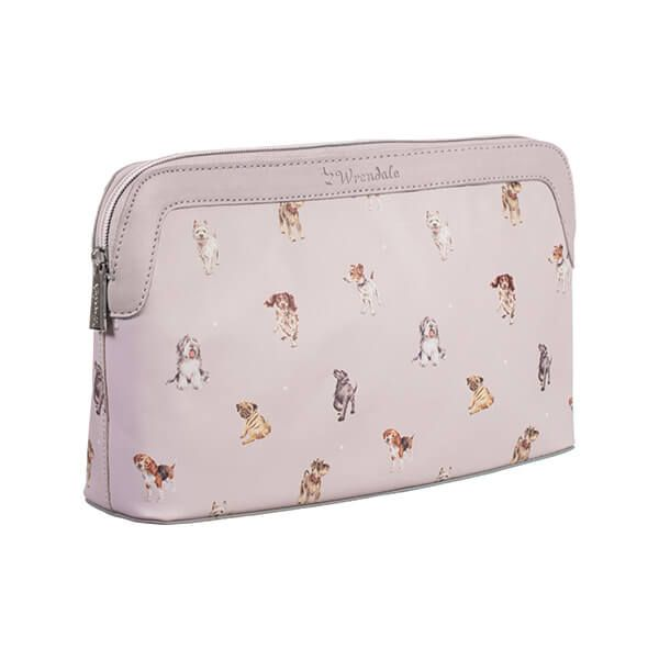 Wrendale Designs A Dog's Life Large Cosmetic Bag