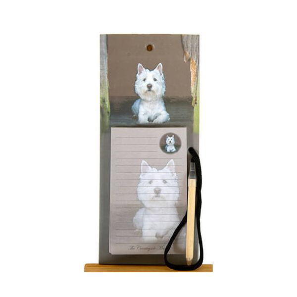 Country Matters Westie Magnetic Notebook