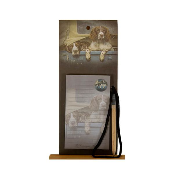 Country Matters Spaniels in Landy Magnetic Notebook
