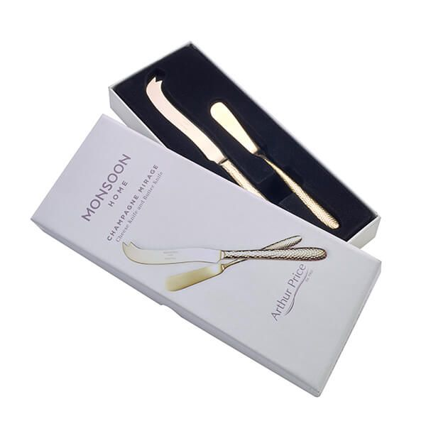 Arthur Price Monsoon Champagne Mirage Cheese And Butter Knife