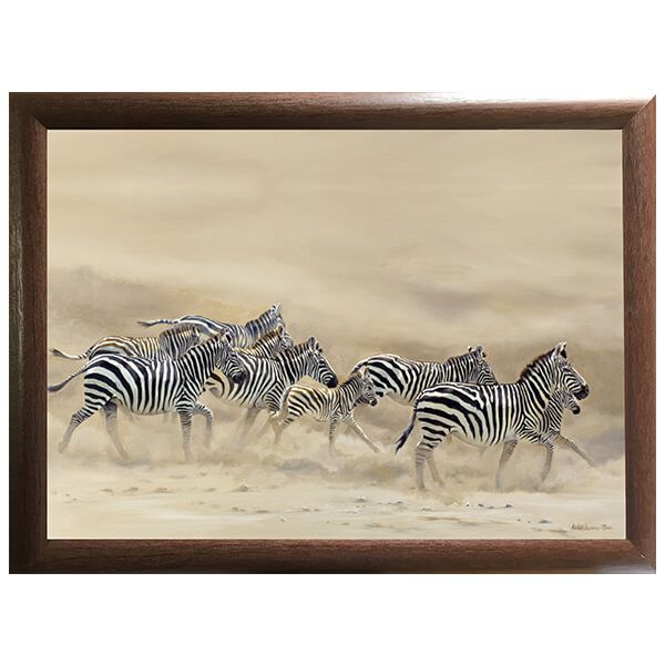 Country Matters Karen Laurence-Rowe Dust and Stripes Lap Tray