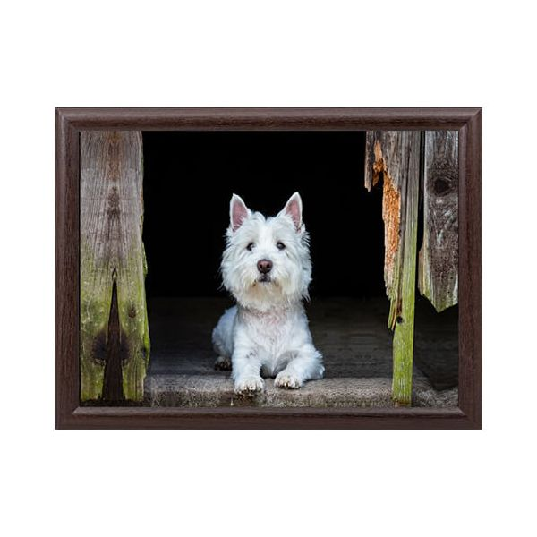 Country Matters Westie Lap Tray