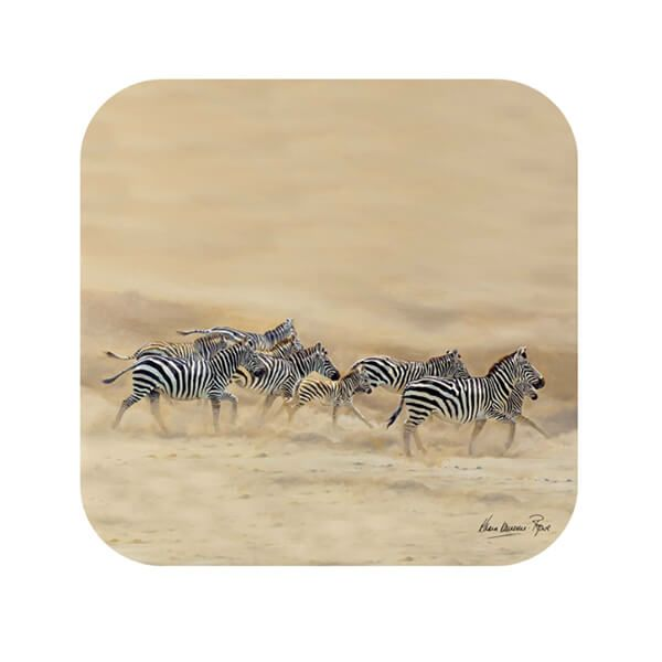 Country Matters Karen Laurence-Rowe Dust and Stripes Coaster