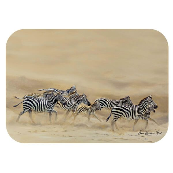 Country Matters Karen Laurence-Rowe Dust and Stripes Placemat