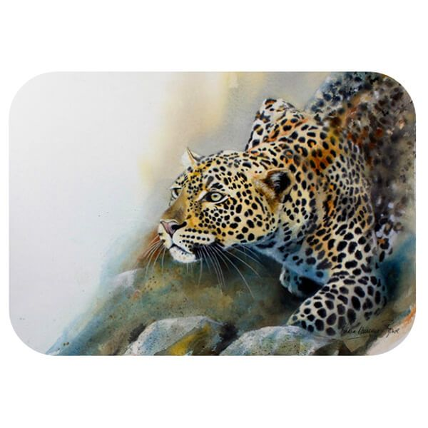 Country Matters Karen Laurence-Rowe Stalking Leopard Placemat