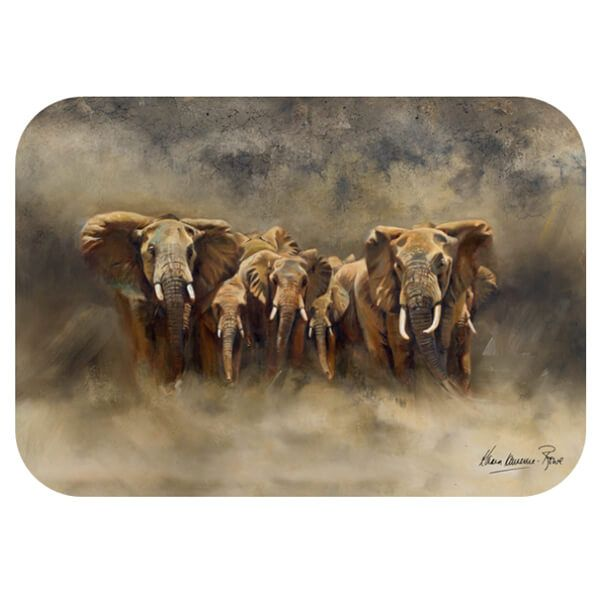 Country Matters Karen Laurence-Rowe Line of Defence Placemat