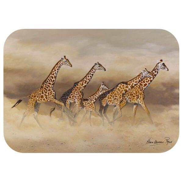 Country Matters Karen Laurence-Rowe Flight Placemat