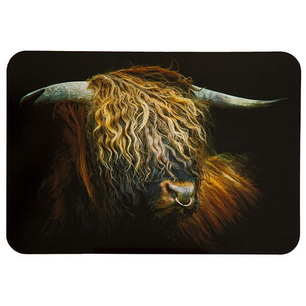 Country Matters Highland Bull Placemat