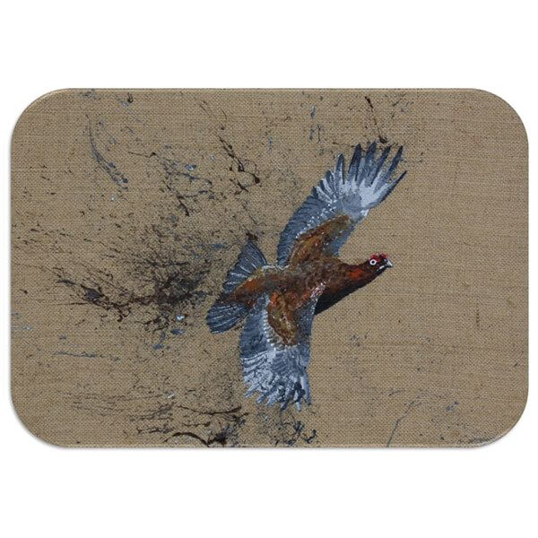Country Matters Red Grouse Placemat
