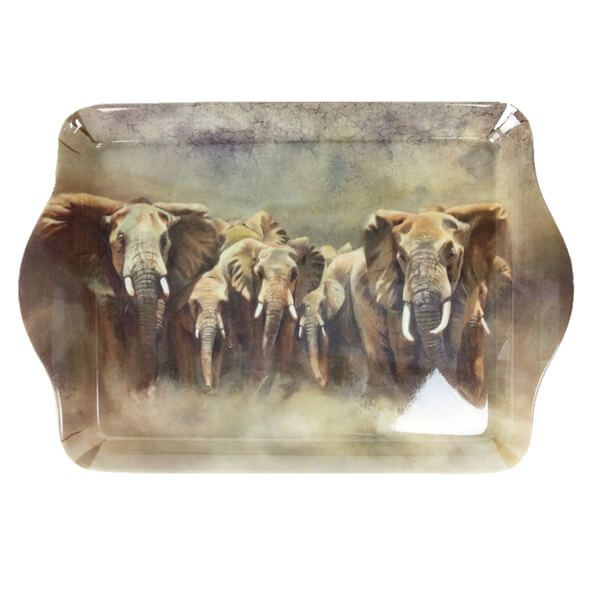 Country Matters Karen Laurence-Rowe Line of Defence Trinket Tray