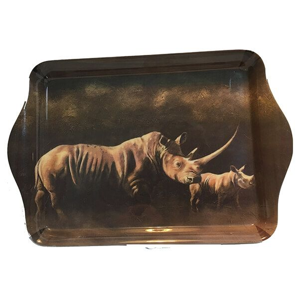 Country Matters Karen Laurence-Rowe Otoro & Calf Trinket Tray