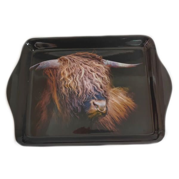 Country Matters Highland Bull Trinket Tray