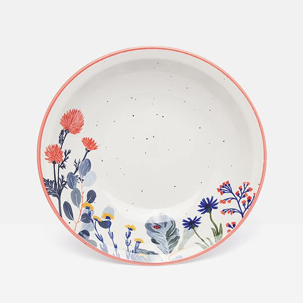 Joules Country Cottage Stoneware Pasta Bowl