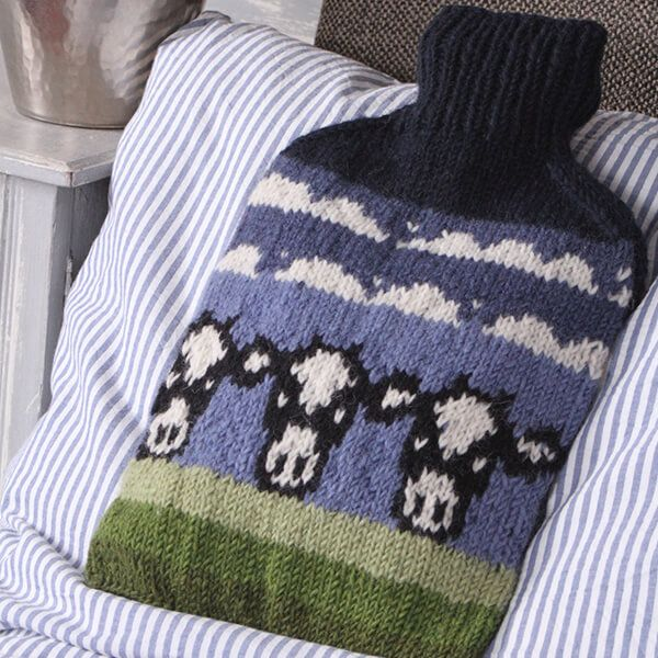 Pachamama Dairy Cow Hot Water Bottle
