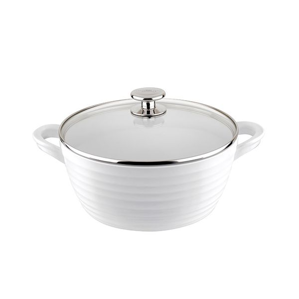Sophie Conran White 24cm Large Casserole and Lid