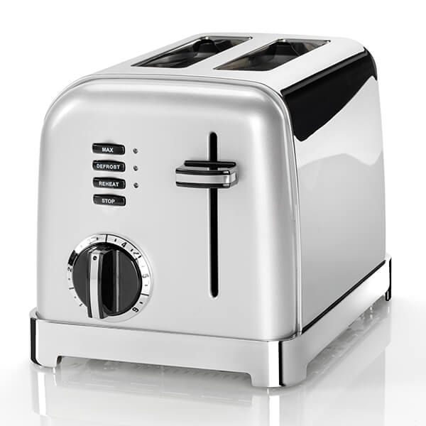 Cuisinart Style Collection 2 Slice Toaster Frosted Pearl