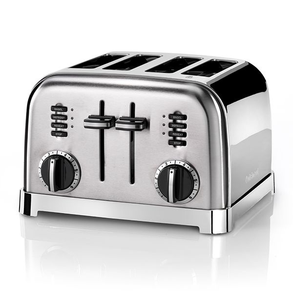 Cuisinart Signature Collection 4 Slot Toaster Stainless Steel