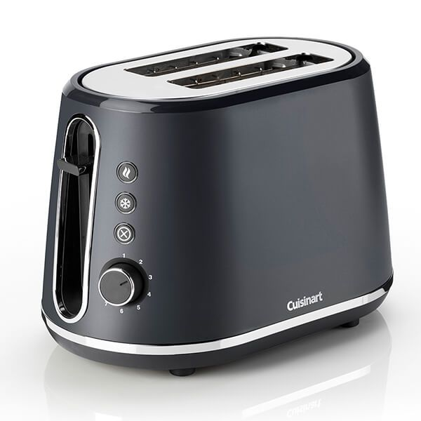 Cuisinart Neutrals Collection Slate Grey 2 Slice Toaster