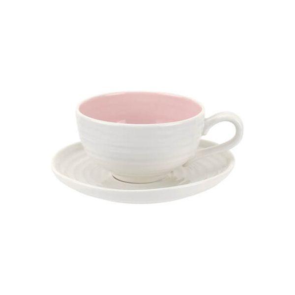 Sophie Conran Colour Pop Tea Cup & Saucer Pink