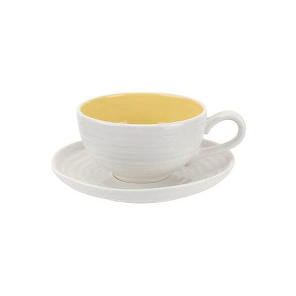 Sophie Conran Colour Pop Tea Cup & Saucer Sunshine