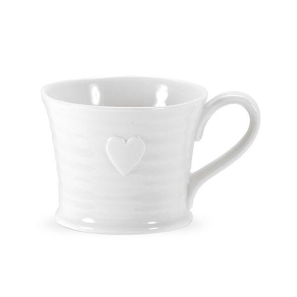 Sophie Conran Embossed Heart Mug