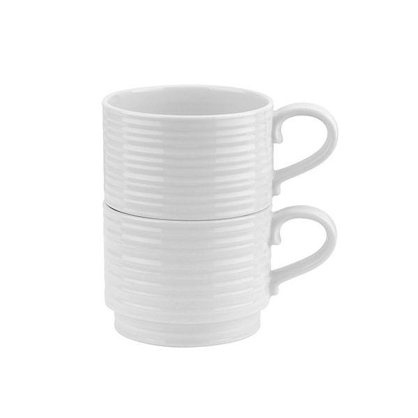 Sophie Conran Set Of 2 Stacking Mugs