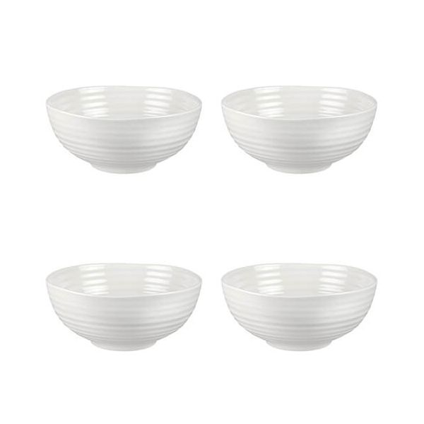 "Sophie Conran Noodle Bowl White 7"" Set Of 4"