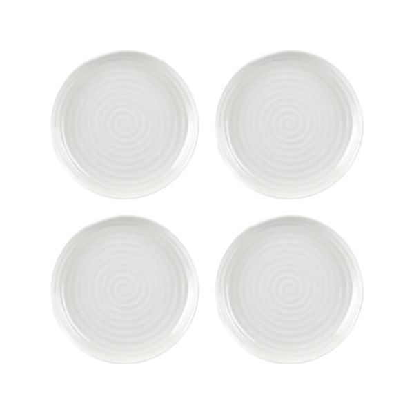 "Sophie Conran Coupe Plate White 6.5"" Set Of 4"