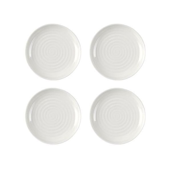 "Sophie Conran Coupe Plate White 4"" Set Of 4"