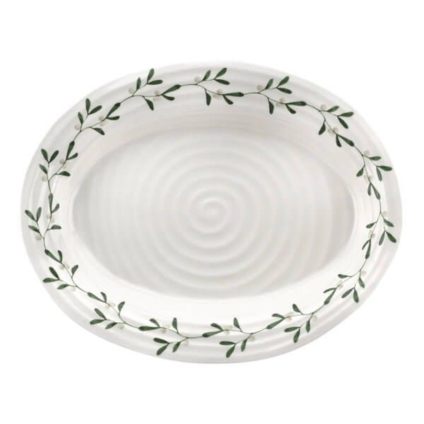 Sophie Conran Mistletoe Medium Oval Plate 37cm x 30cm
