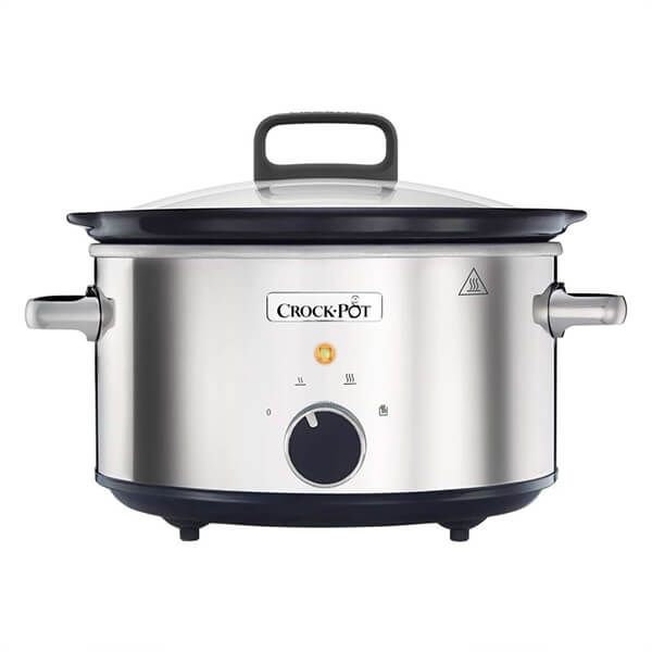 Crock Pot 3.5 Litre Stainless Steel Slow Cooker