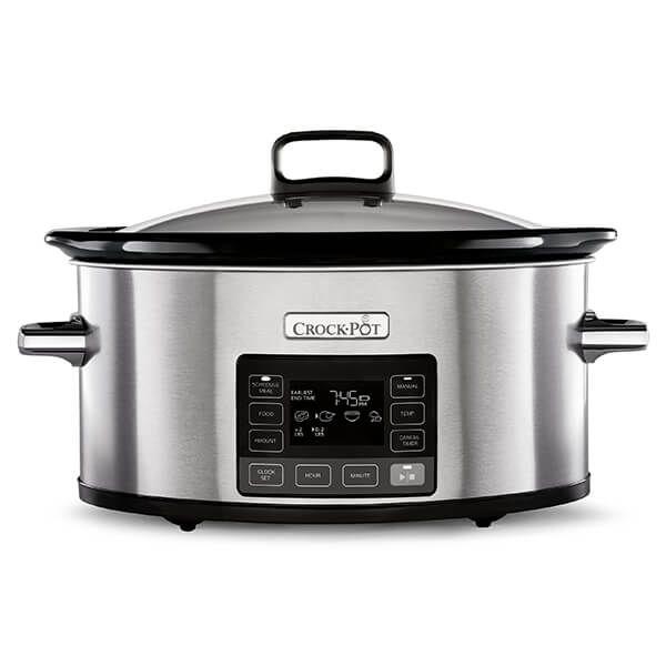 Crock Pot Time Select 5.6L Digital Slow Cooker
