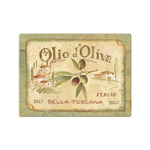 Olio D'Olivia Glass Worktop Saver
