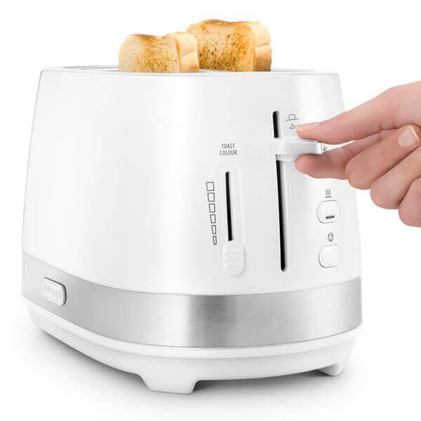 Delonghi Active Line 2 Slot Toaster White