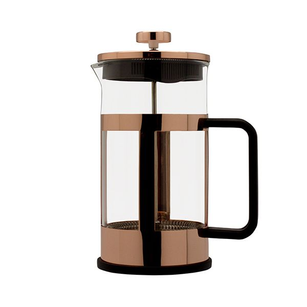 Grunwerg Cafe Ole Copper Finish 1.0L Cafetiere