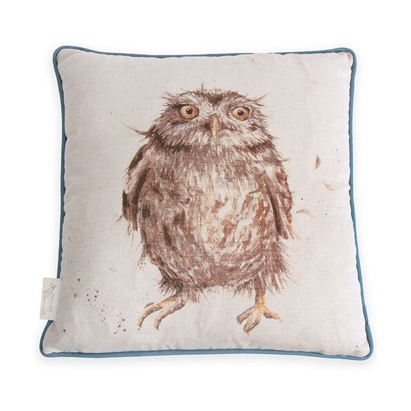 Wrendale Owl Cushion