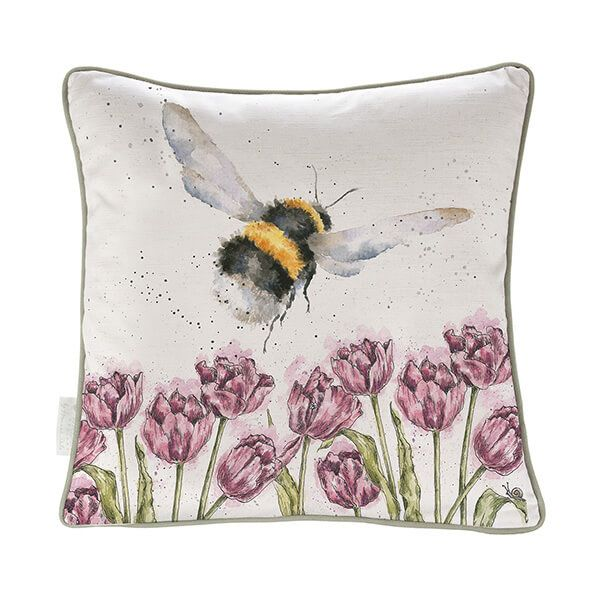 Wrendale Flight Of The Bumblebee Cushion
