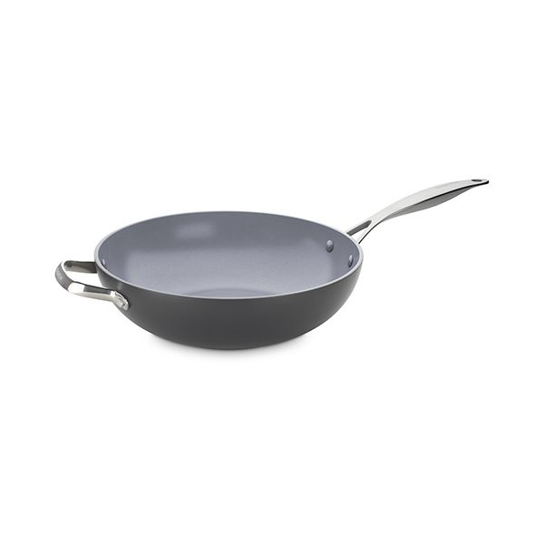 GreenPan Venice Pro Hard Anodised Ceramic Non-Stick 30cm Wok