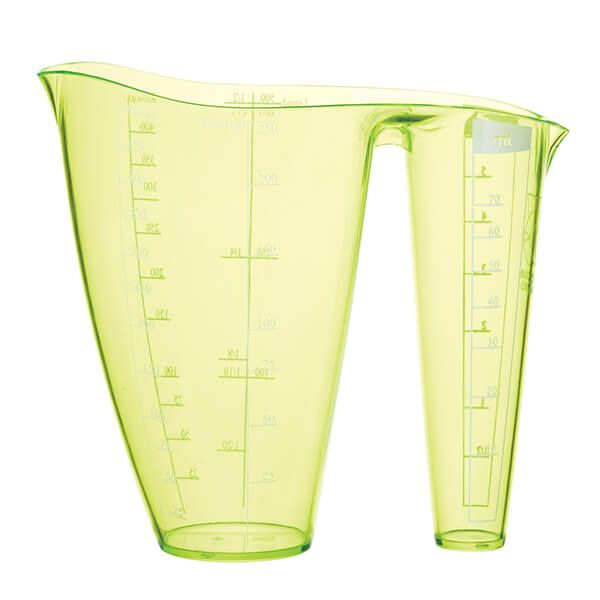 Colourworks Brights Green 2 In 1 Measuring Jug