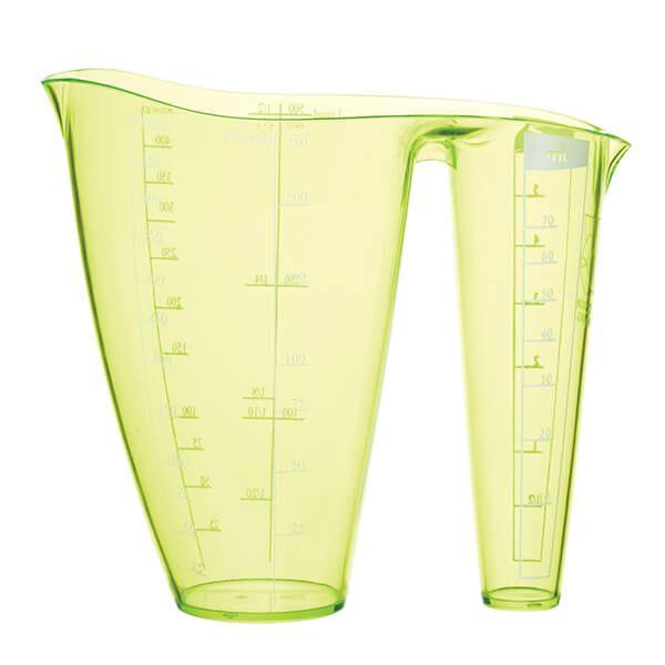 Colourworks Brights Green 2 In 1 Measuring Jug