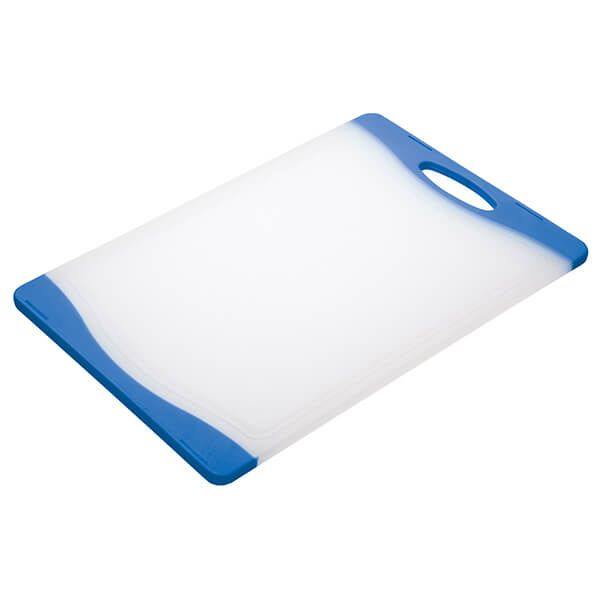 Colourworks Blue 36x25cm Reversible Chopping Board