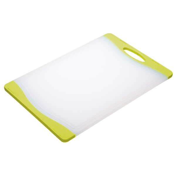 Colourworks Green 36x25cm Reversible Chopping Board