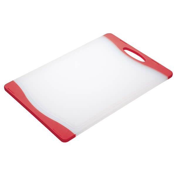 Colourworks Red 36x25cm Reversible Chopping Board