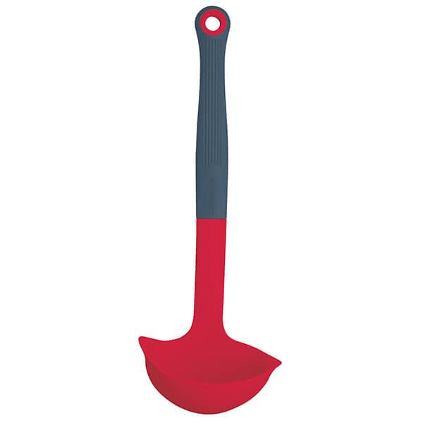 Colourworks Brights Red Silicone Headed Ladle