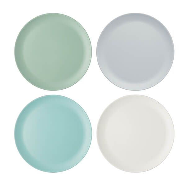 Colourworks Classics Set of Four 28cm Melamine Dinner Plates