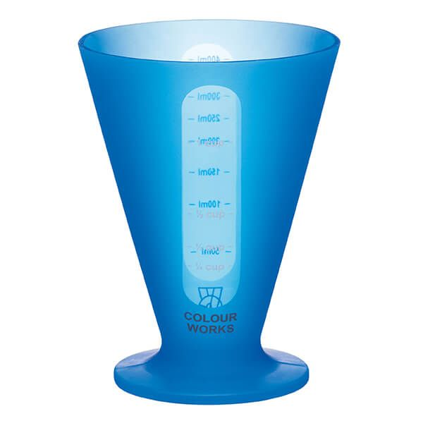 Colourworks Brights Blue Conical Measure