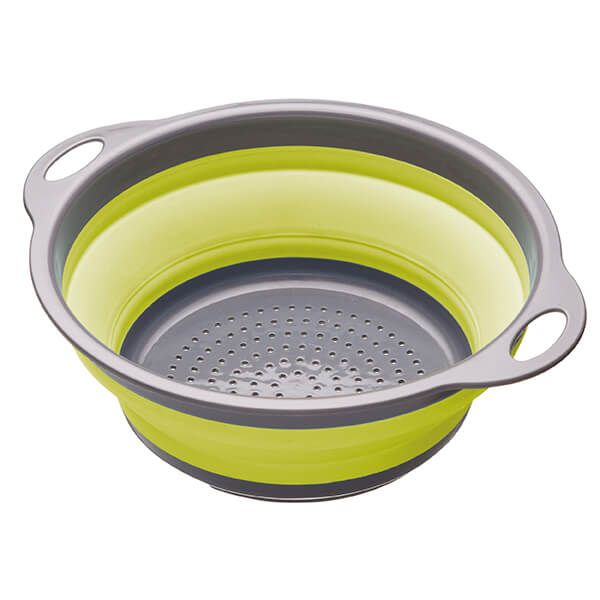 Colourworks Green 24cm Collapsible Colander