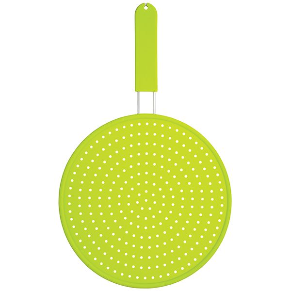Colourworks Green Silicone 28cm Splatter Screen