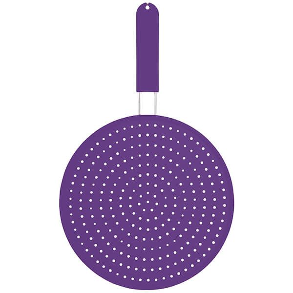 Colourworks Purple Silicone 28cm Splatter Screen