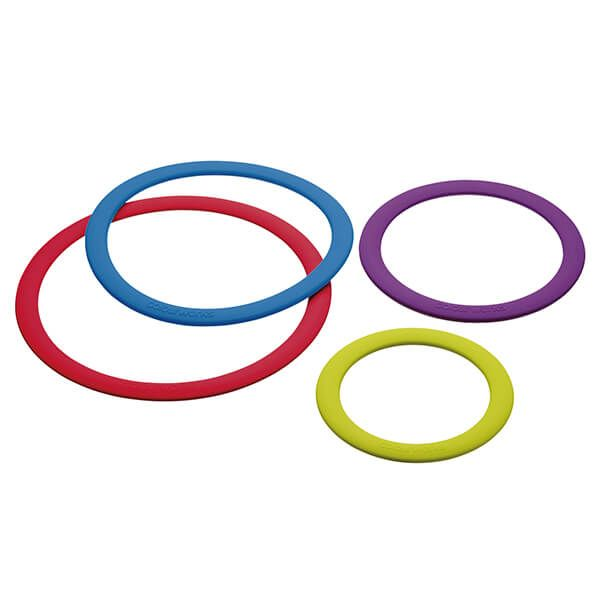 Colourworks Set of Four Silicone Trivets